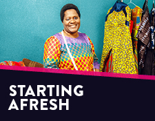 Starting afresh: How entrepreneurship is transforming the lives of resettled refugees