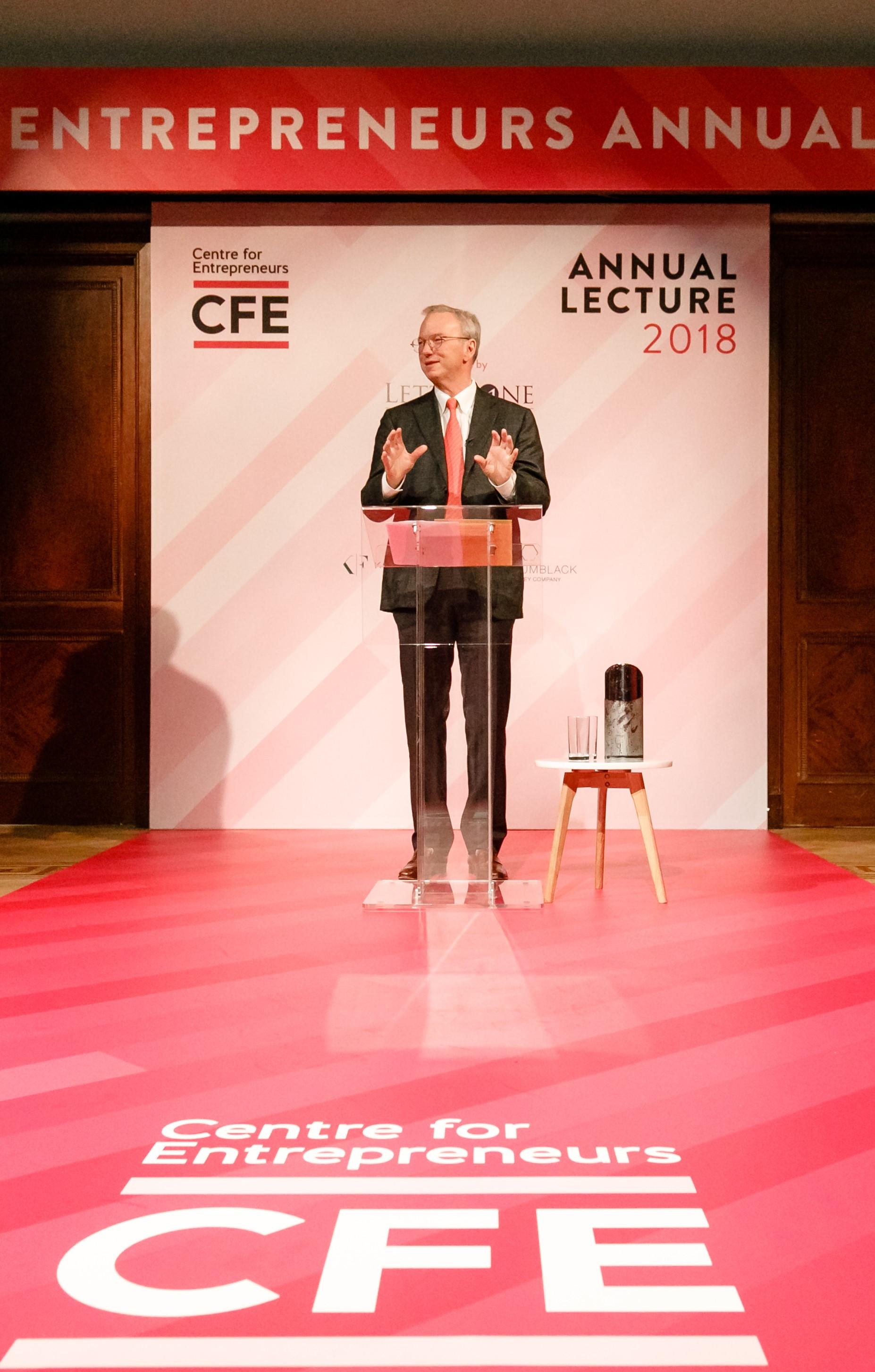 Annual Lecture - Centre for Entrepreneurs