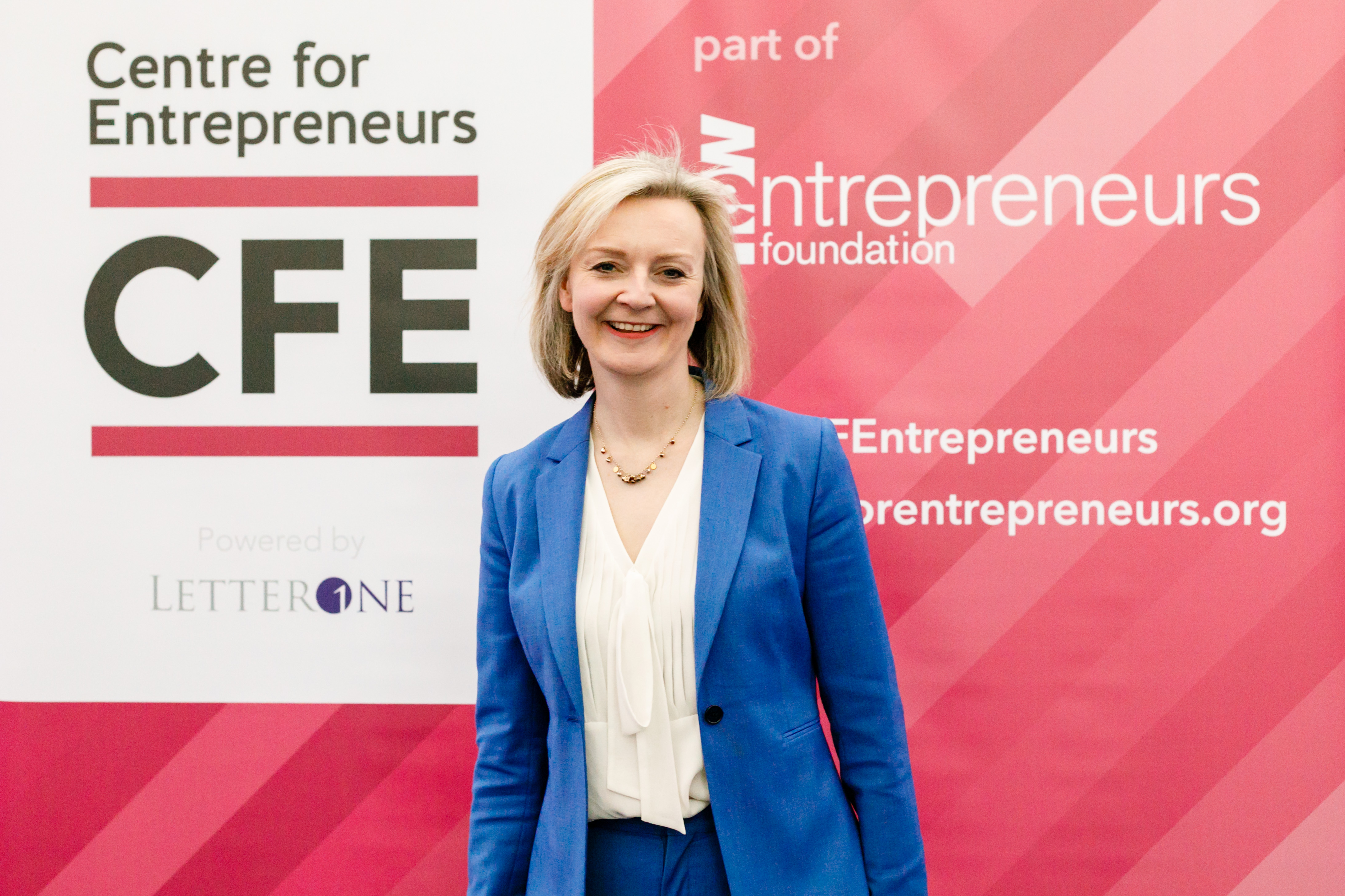 chief secretary to the treasury Liz Truss MP speaks at inaugural CFE incubator and accelerator network conference