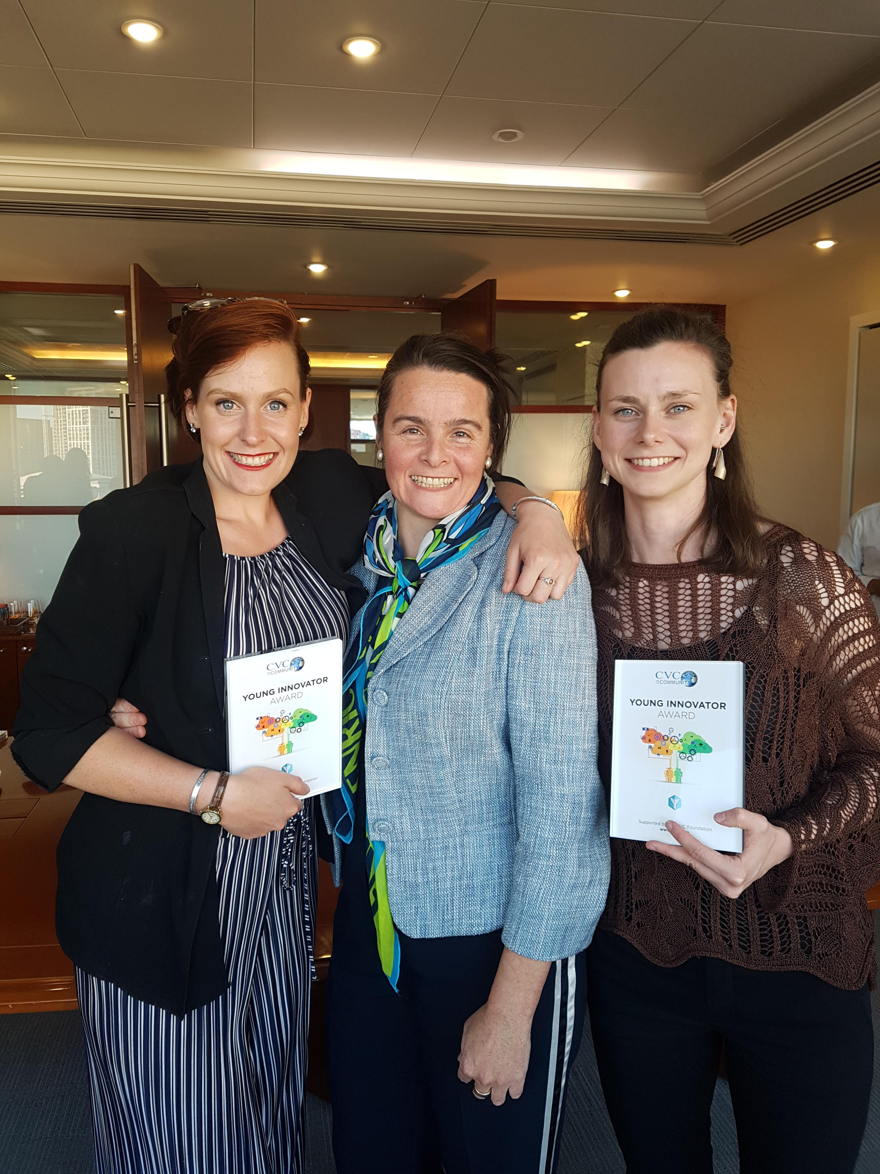 CVC Young Innovator Award 2019 Winners